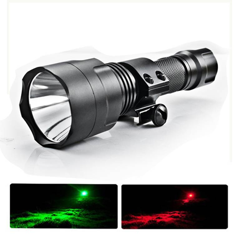 Scope Mounted Lights For Night Hunting Red And Green ...