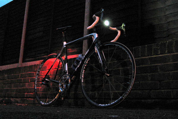 bike front and rear light set