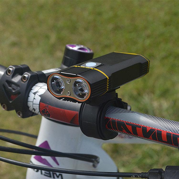 2000lm Powerful USB Bike Light