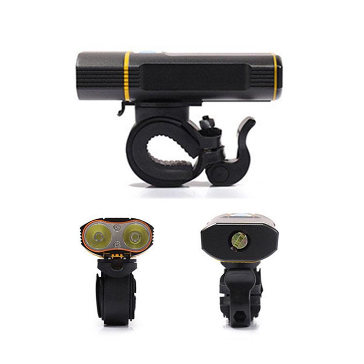 usb bike headlight display