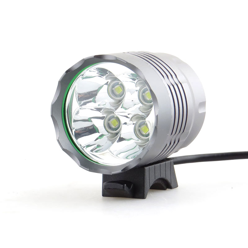 Mtb Helmet Light 4000lm Powerful Mountain Front Light