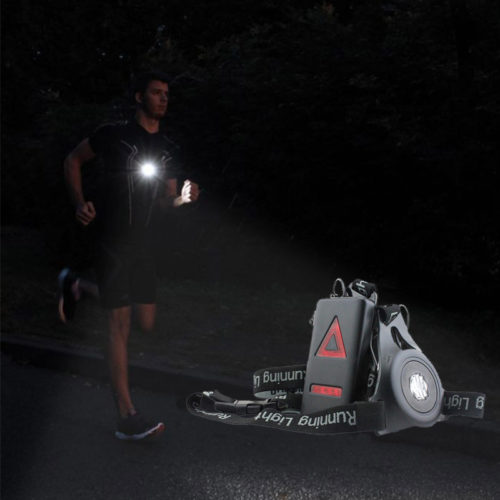 Running Safety Light Kit Front and Rear Safety Light