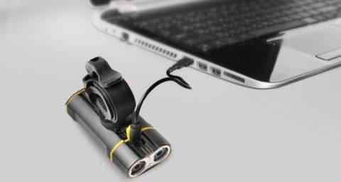 USB charging bicycle light