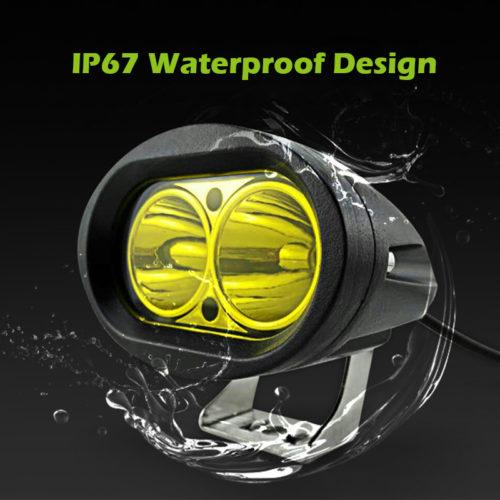 waterproof motor bike headlight