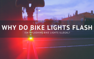 Why do bike lights flash