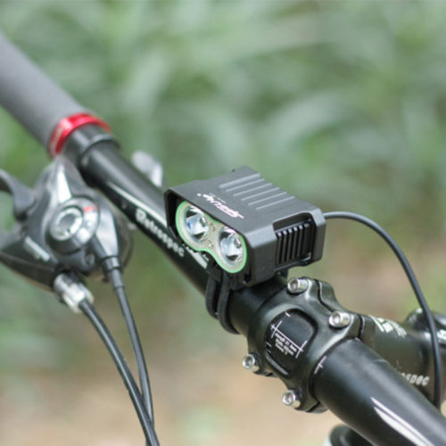 bike handlebar mountain bike headlight