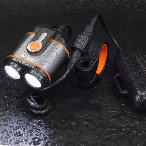 waterproof mtb bike lights