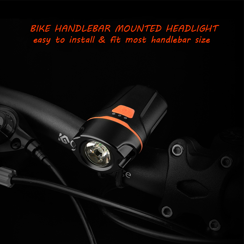Usb Bike Light Set 260lm Waterproof Bike Headlight Prolites