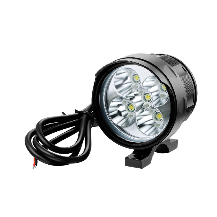 Motorcycle LED Headlight 5*T6 12v-85V Motorbike Light