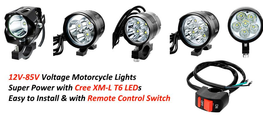 Motorcycle Headlights