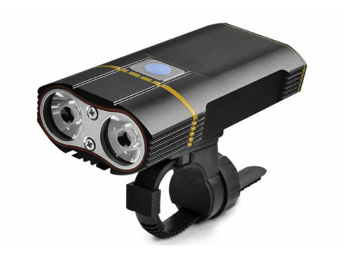 USB Bike Light Cree LED 1000lm Headlight With Removable 18650 Batteries