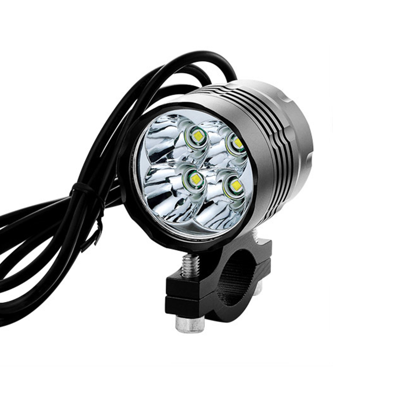 Motorcycle Auxiliary Lights 4000lm Cree T6 LED Motorbike Headlight