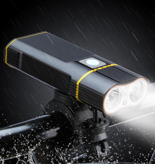 waterproof usb bike light