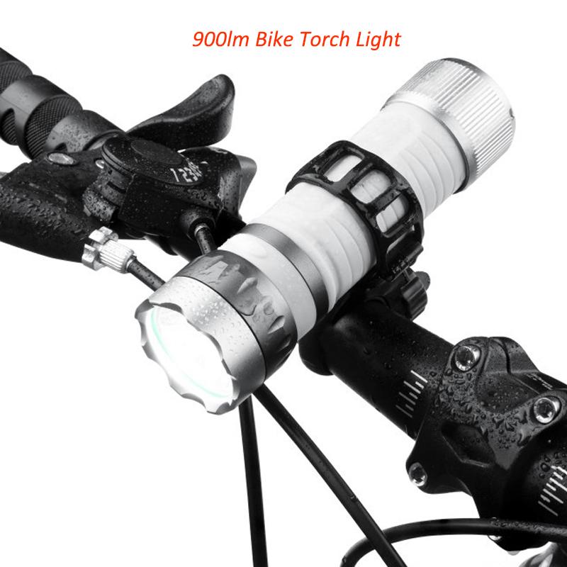 Bicycle Flashlight 900lm USB Charging Bike Flashlight